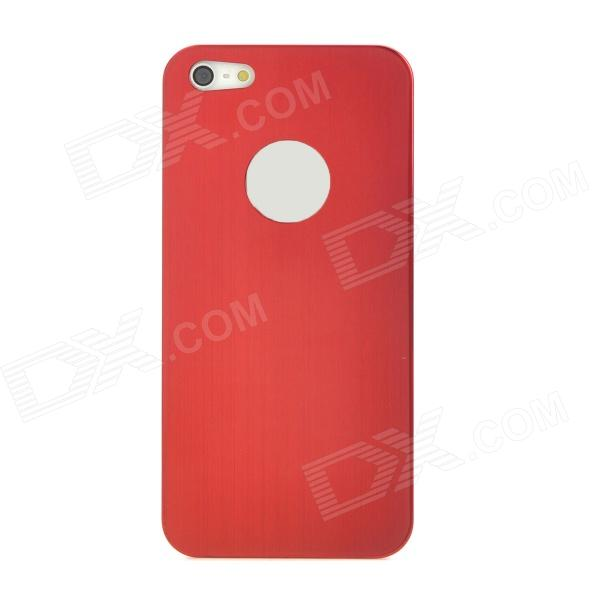 Protective Titanium Alloy Case for Iphone 5 - Red + Black
