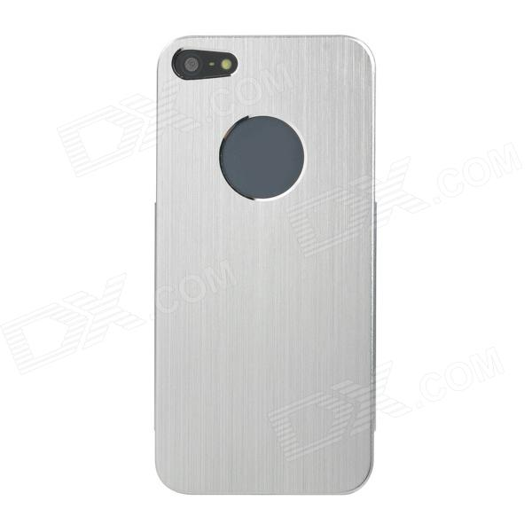 Protective Aluminum alloy Case for Iphone 5 - Black + Silver