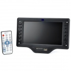 "KY938 7 ""Media Player / Recorder Module w / USB / SD Card Slot / Remote Control - Black"