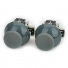 Replacement 3D Joysticks for XBOX360 Controller - Grey + Black (Pair)