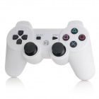 Wireless Vibration Bluetooth v3.0 Controller for PS3 / PS3 Slim / PS3 CECH4000 - White