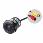 2.4GHz Wireless CMOS Mini Car Rearview Camera - Black (DC 12~24V)