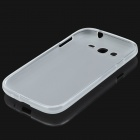 Protective Soft PVC Back Case for Samsung Galaxy Grand / i9080 / i9082 - Transparent White
