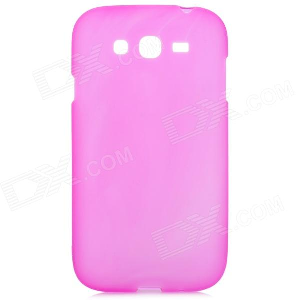 Protective Soft PVC Back Case for Samsung Galaxy Grand / i9080 / i9082 - Deep Pink protective soft pvc back case for htc sensation xl x315e g21 deep pink