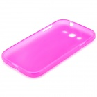 Protective Soft PVC Back Case for Samsung Galaxy Grand / i9080 / i9082 - Deep Pink