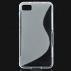 Protective Soft TPU Back Case for BlackBerry BB Z10