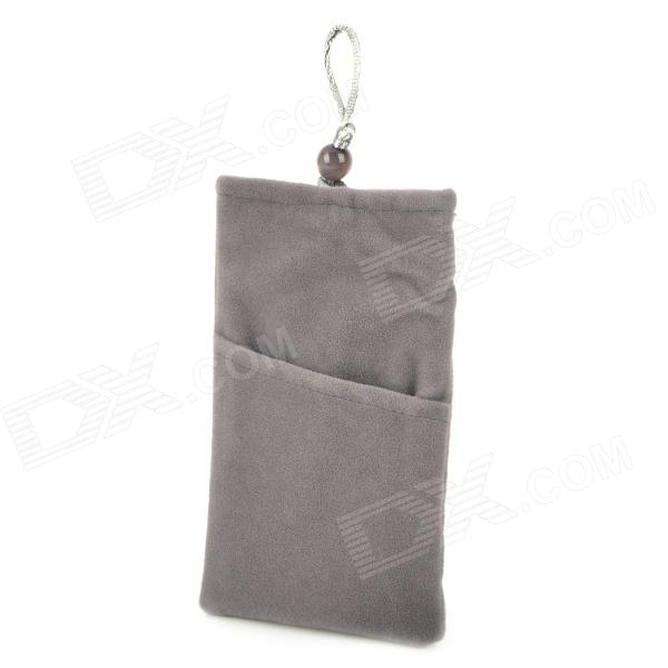 Protective Cloth Bag Pouch for iPhone - Grey