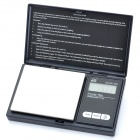 "NPOL ON-P01-600 1,3 ""LCD Portable Digital Scale - Black (0,1 g / 600g)"