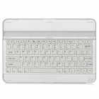 82-Key Bluetooth V3.0 Keyboard w/ Stand for Samsung Galaxy Tab 10.1 P7500 / P7510 - Silver + White