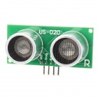 US-020 Ultrasonic Sensor Distance Measuring Module - Green + Silver