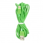 8pin Lightning Male to USB Male Data Cable for iPhone 5 / iPad 4 - Green (300cm)