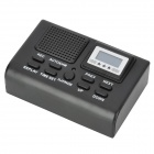 JB-SD101 LCD SD Card Rechargeable Voice Recorder w/ MP3 player - Black (8GB)