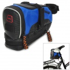 TURNER C2 Cycling Bicycle Bike Saddle Seat Tail Bag - Black + Blue