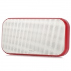 Mikoo Portable Media Player Speaker w/  FM / TF Slot - Red + Silver