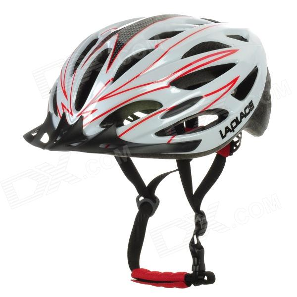Laplace A1 Outdoor Bike Bicycle Cycling Helmet - Red + White