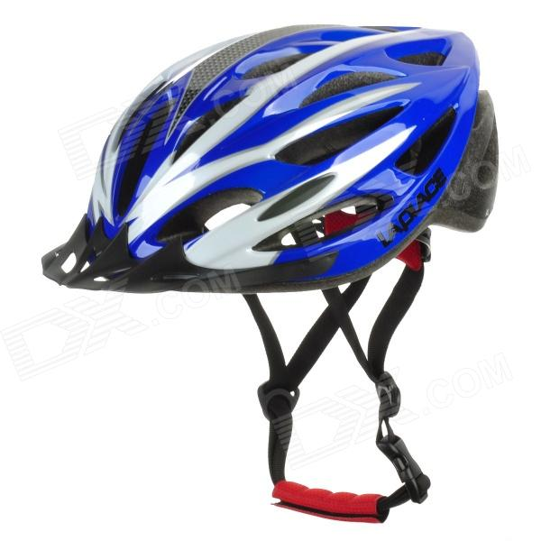 Laplace A1 Outdoor Bike Bicycle Cycling Helmet - Blue + White