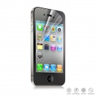 ENKAY High Clear Front Screen + Back Skin Protector Guard Film for Iphone 4 / 4S - Transparent
