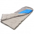 SJ-E12-2 Envelope Style Camping Sleeping Bag - Blue + Grey