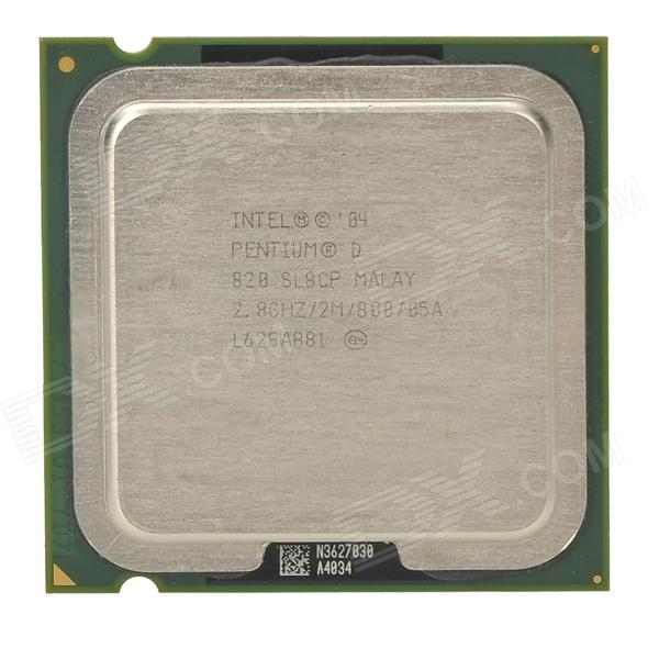 Intel Pentium D Dual-Core 2.8GHz 775 95W CPU Processor