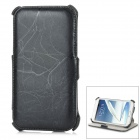 Protective PU Leather Case for Samsung Galaxy Note 2 N7100 - Black