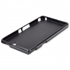 Matte Protective PVC Soft Back Case for Sony Xperia Z L36h - Black