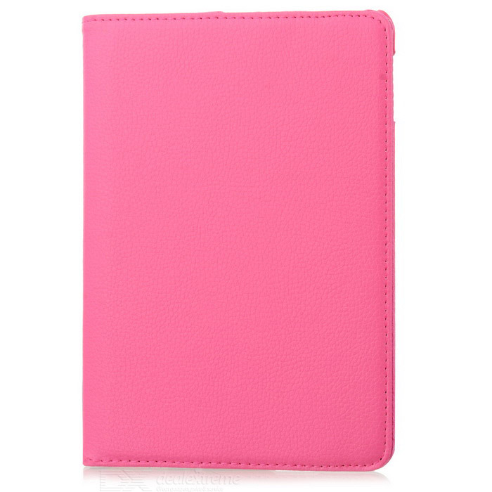 360 Degree Rotatable Protective PU Leather + ABS Case for Ipad MINI - Deep Pink гарнитура проводная samsung eo eg920l in ear fit red