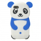Cute Panda Style Protective Silicone Case for Iphone 5 - Deep Blue + White + Black