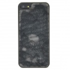 Shimmering Powder 3D Dolphin Pattern Protective Plastic Case for iPhone 5 - Grey