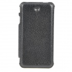 Protective PU Leather Case for Iphone 4S - Black