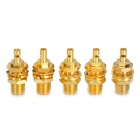 SMA-K-1.5 Coaxial Connector Adapter - Golden (5 PCS)