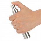Large Capacity Manual Stainless Steel Salt Pepper Grinder / Mill - Silver + Translucent