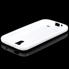 S-Line Style Protective TPU Soft Back Case for Samsung Galaxy S4 i9500 - White