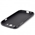Protective Matte PVC Soft Back Case for Samsung Galaxy Grand i9080 / Duos i9082 - Black