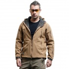Men's Waterproof Outdoor Jacket - Brown (Size XL)