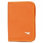 Reise-Leinwand-Zertifikat / Card / Passport-Beutel-Halter - Orange