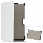Protective PU Leather Flip-Open Case for Samsung XE500T1C-A01/2/3 - White