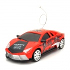Zhencheng 333-718A 2-CH R / C Drift Car Toy w / Remote Controller - Red + Black