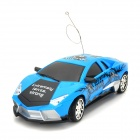 ZhenCheng 333-808A 1:18 2-CH R/C Sport Car Toy w/ Remote Controller - Blue + Black
