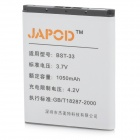 Japod BST-33 Replacement 1050mAh Li-Ion Battery for Sony Ericsson J100/W300/W850 + More