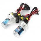 H3 35W 3200lm 6000K Blue White HID Kit Set Car Head Lamps w/ Ballasts (2 PCS / DC 12V)
