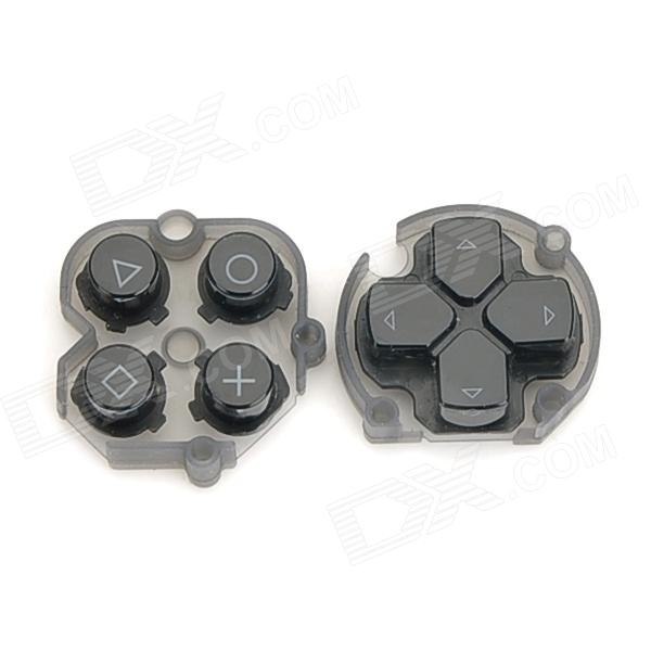 Replacement Directional-Button + Action Button Set for PlayStation Vita - Black