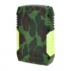 Outdoor Drop-proof Dust-proof Water-resistant 3.7V 7800mAh Mobile Power Bank - Camouflage Color