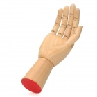 Heacent H002 Wooden Movable Joint Frau Right Hand Model - Beige
