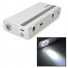 "CoolNL H8 0.5"" LCD 12000mAh Emergency Battery Power Supply for Car Startup / Laptop + More - White"