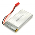 3.7V 1000mAh Li-ion Polymer Battery for Electric R/C Helicopter - Silver