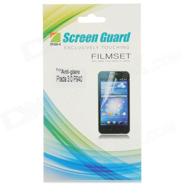 Protective Matte Screen Protector Guard for LG P940 - Transparent
