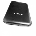 "IT-CEO IT-700 2.5"" STATA USB 3.0 HDD Enclosure w/ Protective Case- Black"