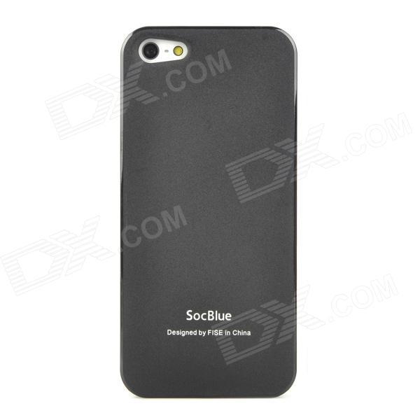 Socblue A840 Dual SIM Card Dual Standby External Battery Cover Case for Iphone 5 - Black