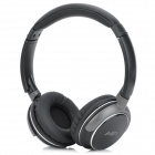 MaiAoXing Q7 Bluetooth v2.1 Bass Stereo Headphones w/ Microphone for Iphone 5 - Black + Dark Grey
