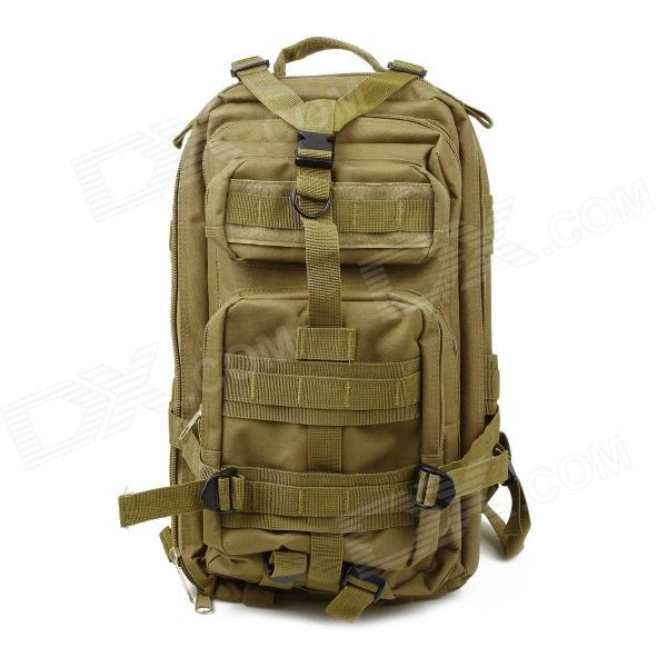 3P Tactical Outdoor Double Shoulder Backpack Bag - Light Army Green fire maple sw28888 outdoor tactical motorcycling wild game abs helmet khaki